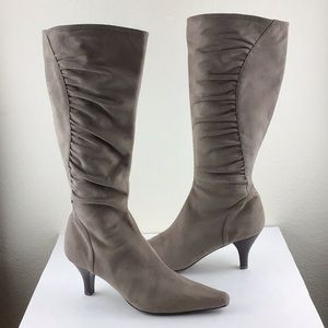 Impo Stretch Suede Look Boots